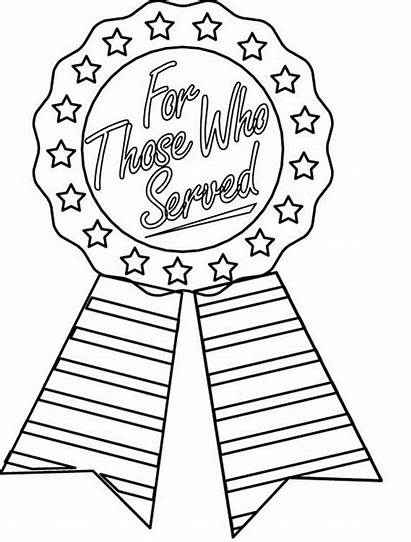 Coloring Memorial Pages Printable