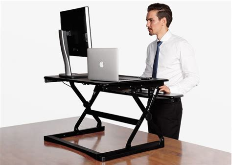 tresanti sit to stand tech desk power height adjustable flexispot 27 quot wide stand up desk with wider keybaord tray