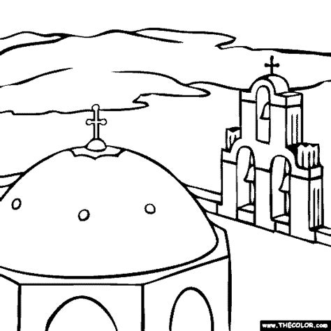 famous places  landmarks coloring pages page