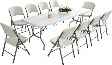 8ft plastic folding table and chairs jpg