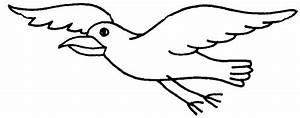 Clip Art Flying Bird - Cliparts.co