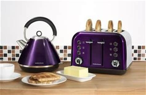morphy richards plum kitchen accessories morphy richards 102020 accents traditional kettle plum 9290