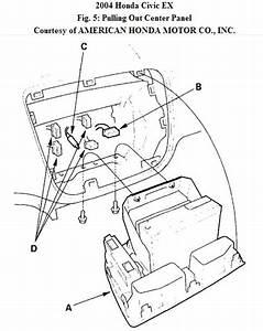 How Do You Remove Factory Radio 2004 Honda Civic Sedan