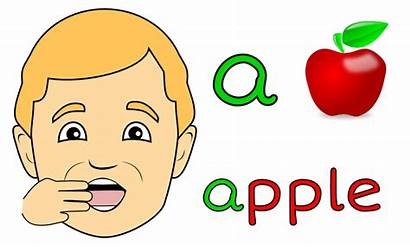 Mouth Shape Clipart Between Vowel Short Pronouncing