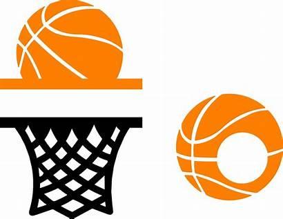 Basketball Cricut Monogram Clipart Svg Cut Vinyl
