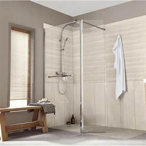 Panneau Hydrofuge Salle De Bain : paroi de douche l 39 italienne cm verre ~ Dailycaller-alerts.com Idées de Décoration