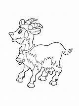 Coloring Goat Emu Goats Gruff Printable Billy Drawing Getdrawings Colouring Getcolorings Animals Colorings sketch template