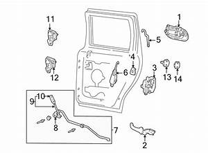 Ford Expedition Door Latch Assembly  Expedition  Navigator
