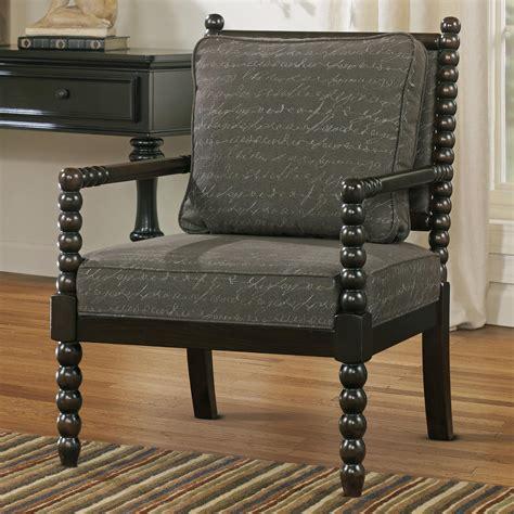 signature design by milari accent chair in script
