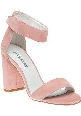 jeffrey campbell lindsay light pink suede sandal