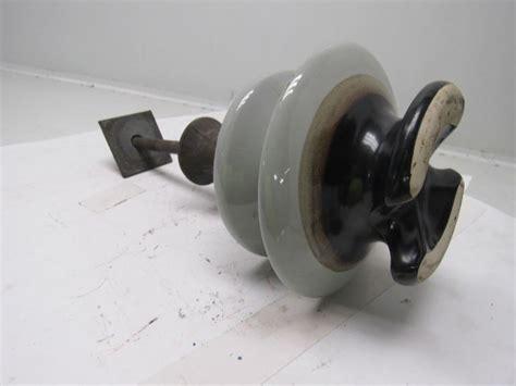 pinco antique vintage  ceramic electric pole insulator