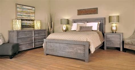 gray american  bedroom furniture countryside amish