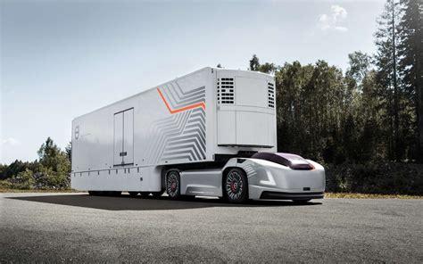 cabina camion volvo pr 233 sente un camion autonome sans cabine