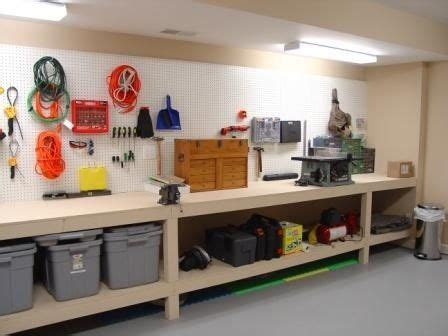 amazing garage workbench ideas  garage workshop
