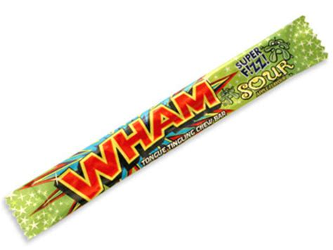 wham ingredients wham sour apple chewy bar sweets from the uks original