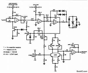 Voltage Controlled Sine Wave Oscillator