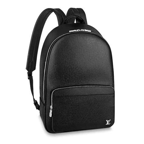 louis vuitton lv unisex alex backpack  taiga leather