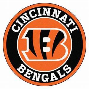 FANMATS NFL Cincinnati Bengals Black 2 ft 3 in x 2 ft 3