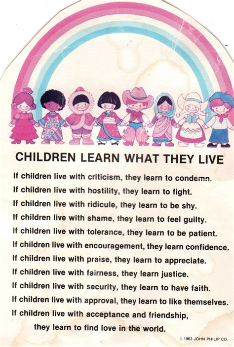 children learn what they live quotes and sayings 878 | 05ff4259c2725088a5a59557d21a128f