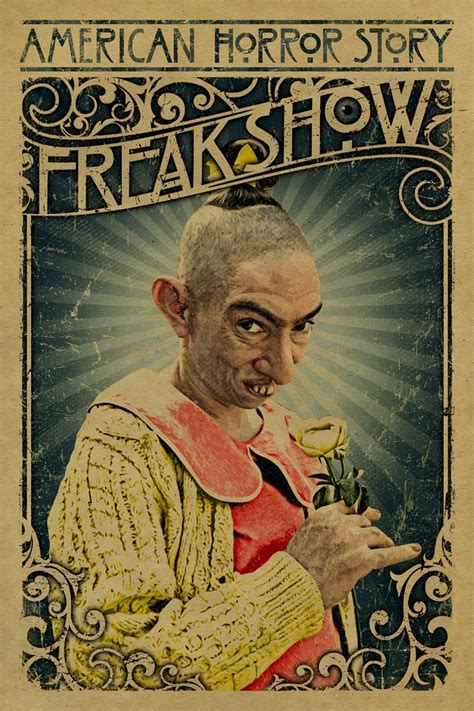 American Horror Story Freak Show  Poster  Unclegertrudes  Design Tv  Pinterest Last