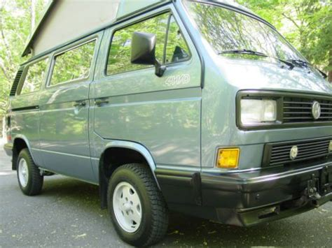 vehicle repair manual 1989 volkswagen type 2 seat position control buy used westfalia full cer bus with a new gowesty motor trans from german transaxle in