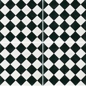 carreaux de ciment decor damier noir et blanc With carreaux de ciment noir et blanc