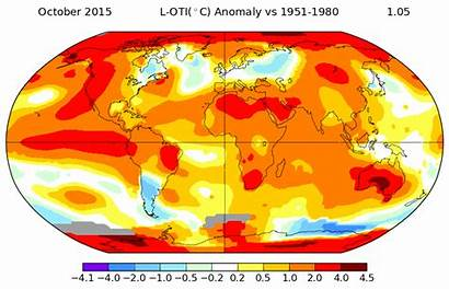Global Average Temperature Anomalies Warming Overdrive Recorded