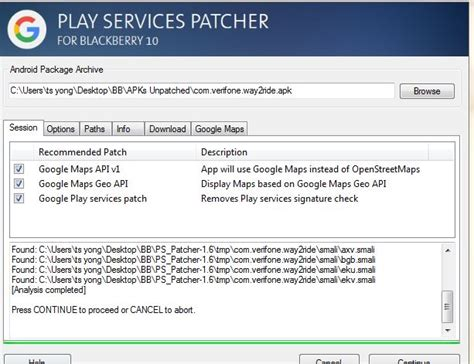 how to patch android apps depending on maps and play services page 144