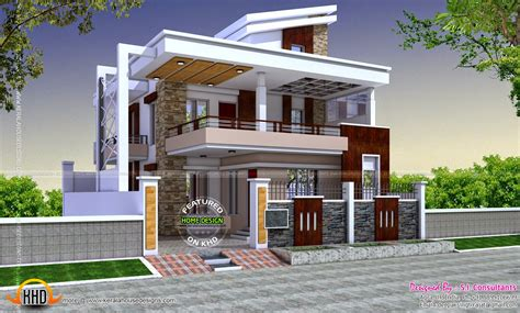 Small Modern House Designs In India