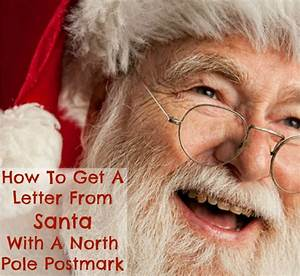 How to get a letter from santa postmarked from the north pole for Postmarked letter from santa