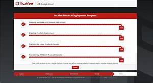 Mcafee Cloud Workload Security For Google Cloud Platform