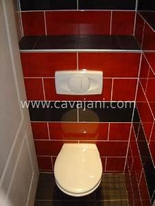 Pose Toilette Suspendu : carrelage moderne faience listel escalier ~ Melissatoandfro.com Idées de Décoration