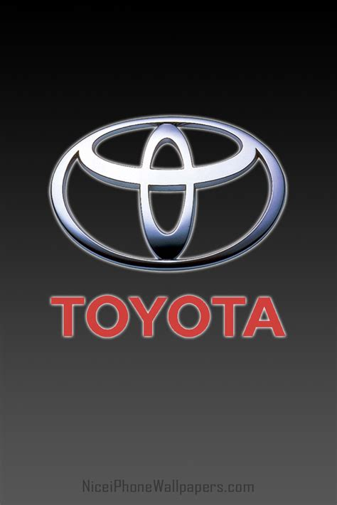 Toyota Logo Wallpaper Iphone by Toyota Logo Wallpaper Wallpapersafari