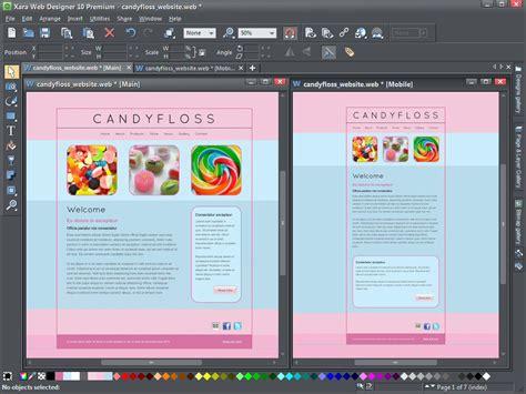 xara web designer xara web designer premium 10 1 3 free software