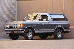 Hemmings Find Of The Day U2013 1988 Ford Bronco Xlt