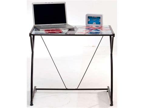 conforama bureau en verre bureau