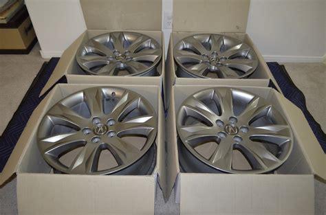 sold oem mdx advance  wheels set   mdx tl rl