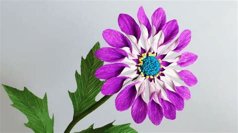 crepe paper abc tv how to daisies paper flower from