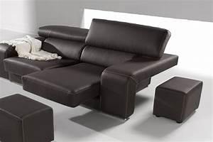canape relax pas cher With tapis exterieur avec canapé cuir taupe 3 places