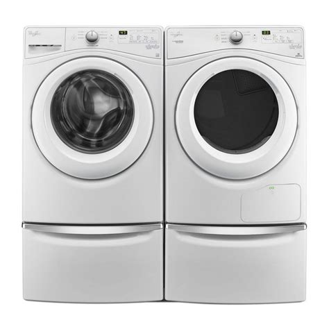 wfw7590fw whirlpool 4 2 cu ft front load washer with