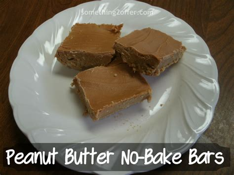 peanut butter no bake dessert bars