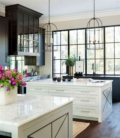 wood island tops kitchens 34 timelessly black and white kitchens digsdigs