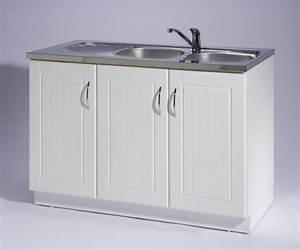 Meuble de cuisine sous évier 3 portes Maison et mobilier d'intérieur