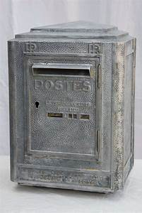 art deco era french mailbox at 1stdibs With art deco letter box