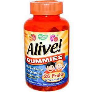 Nature's Way, Alive! Multi-Vitamin for Children, Natural ...