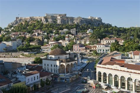 Athens City In Greece Sightseeing And Landmarks