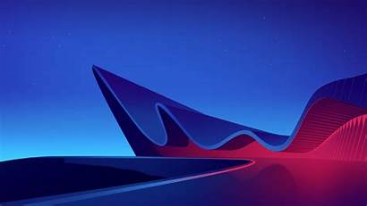 4k Architecture Neon Wave Wallpapers Ultra 1080