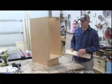 how to build cabinet carcass how to build kitchen cabinet carcass youtube