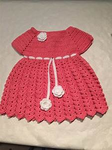 tuto robe bebe au crochet youtube With tuto tricot robe bébé