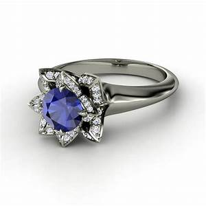 non diamond engagement rings non traditional engagement With non conventional wedding rings